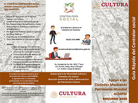 Guia Rápida Del Contralor Social 2020